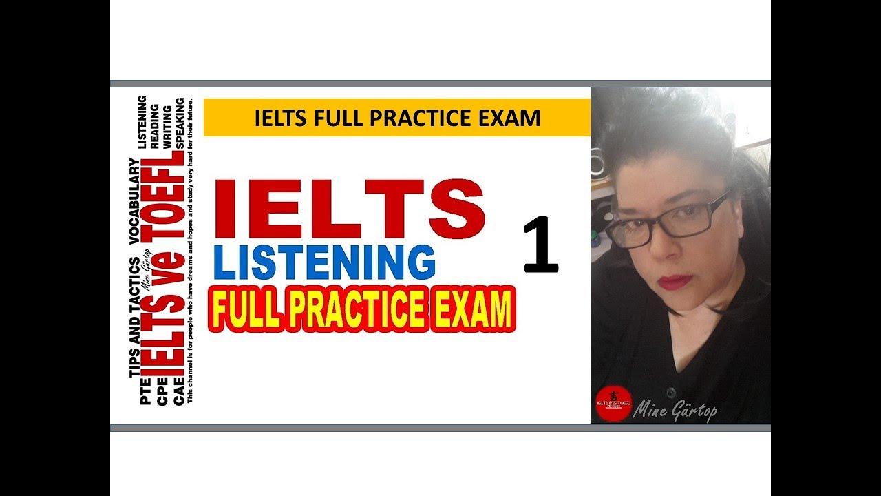 1-IELTS LISTENING FULL PRACTICE EXAM WITH KEY (KEY: 32 18)