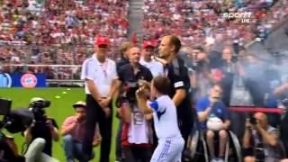 FC Bayern - Teampräsentation in der Allianz Arena | Season 2014/15 (09.08.14)