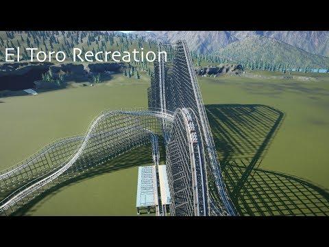El Toro | Six Flags Great Adventure | Planet Coaster Recreation |