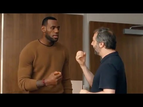 Why Judd Apatow Made LeBron James Change His Voice