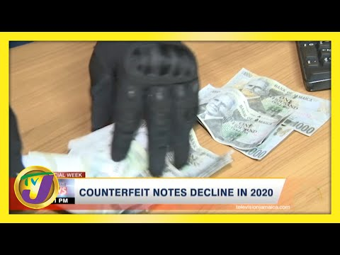 Jamaican Counterfeit Notes Decline in 2020 | TVJ Business Day