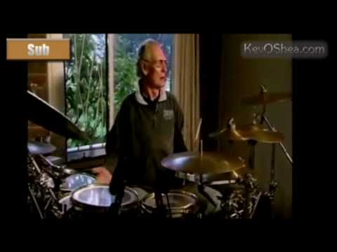 Ginger Baker Paradiddle Drum Lesson