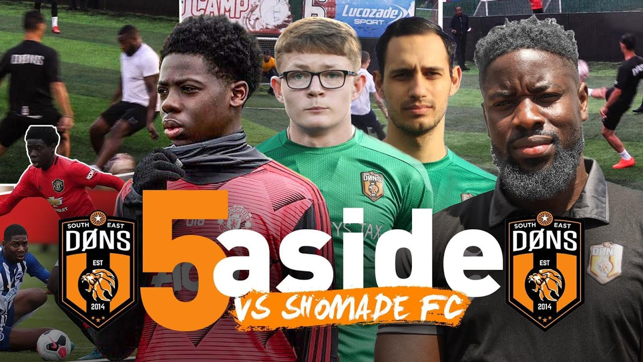 SE DONS vs SHOMADE | 'The Dons Academy' | 5A-Side Football