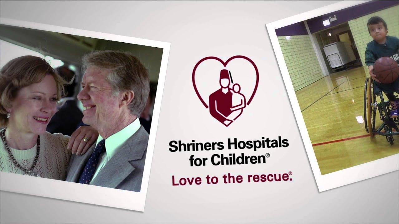Former President Jimmy Carter Shriners Hospitals for ...