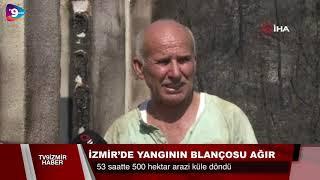 İzmir yangınında korkutan detaylar