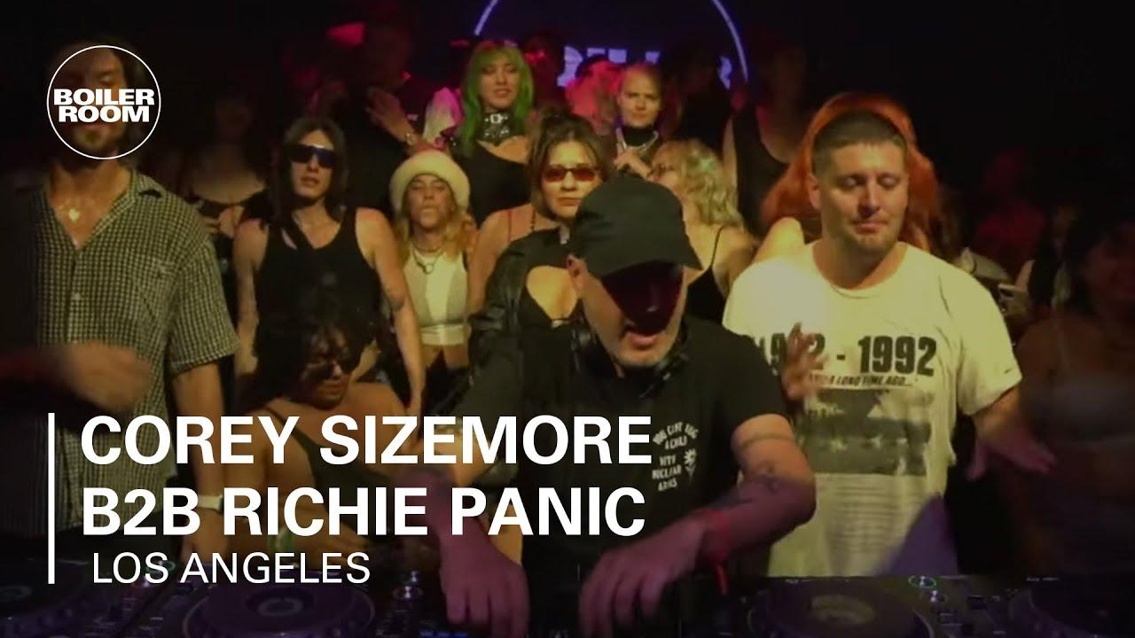 Corey Sizemore b2b Richie Panic | Boiler Room LA: Lights Down Low