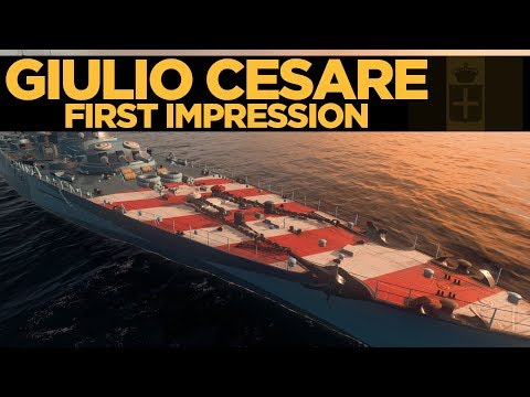 Giulio Cesare First Impression