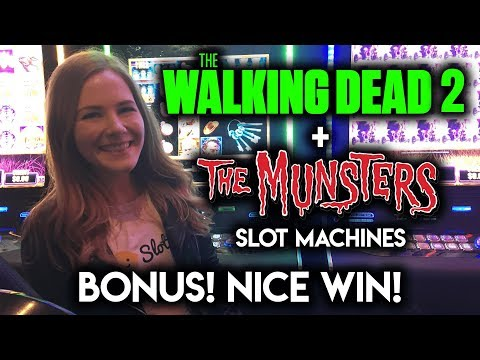 The Munsters Slot Machine BONUS WIN!