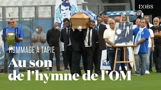 Le Vélodrome rend hommage à Bernard Tapie au son de