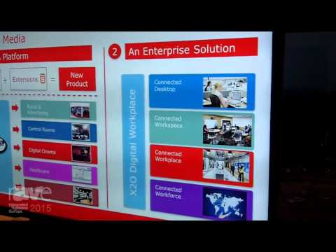 ISE 2015: Barco Demonstrates X2O Collaboration Platform on Barco Product Suite