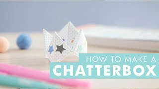 DIY Ideas - How to Make a Chatterbox / Fortune Teller
