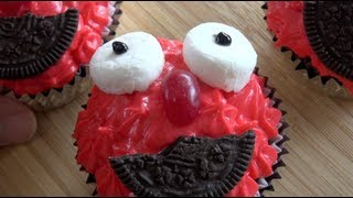 ELMO CUPCAKES - KIDS RECIPE Thumbnail
