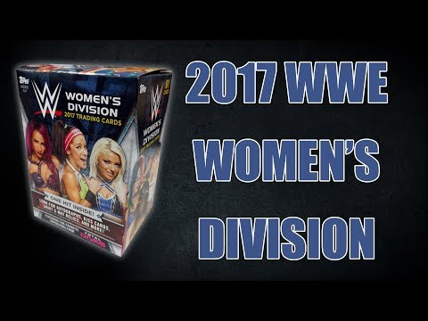 Retail Break: 2017 Topps WWE Women's Division Blaster Box