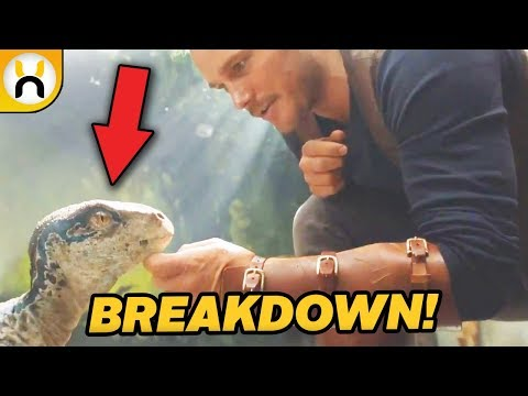 Jurassic World: Fallen Kingdom Official Teaser BREAKDOWN