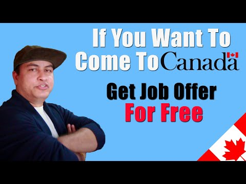 If You Want To Come To Canada? Grab This Opportunity | Jobs For AIPP