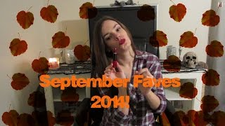 🍁🍂SEPTEMBER FAVES 2014!🍂🍁 Thumbnail