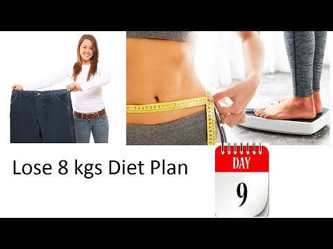 How to lose weight fast in 1 week without exercise(Day # 9 Meal Plan)