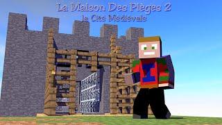 Minecraft - La Maison Des Pièges 2 - La Cité Médiévale : Mon Passage En FaceCam !