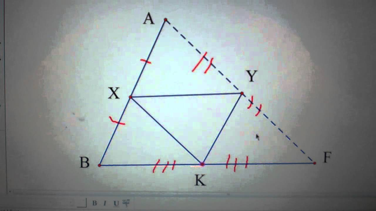 Geometry Sec 5 1 Midsegments Of Triangles