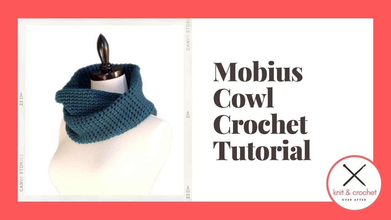 One Skein Mobius Cowl Free Pattern Workshop - YouTube