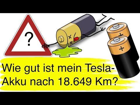 #89 Akku-TÜV: Wie fit ist mein Tesla Model S Akku nach 18.649 Kilometer und 7 Monaten?