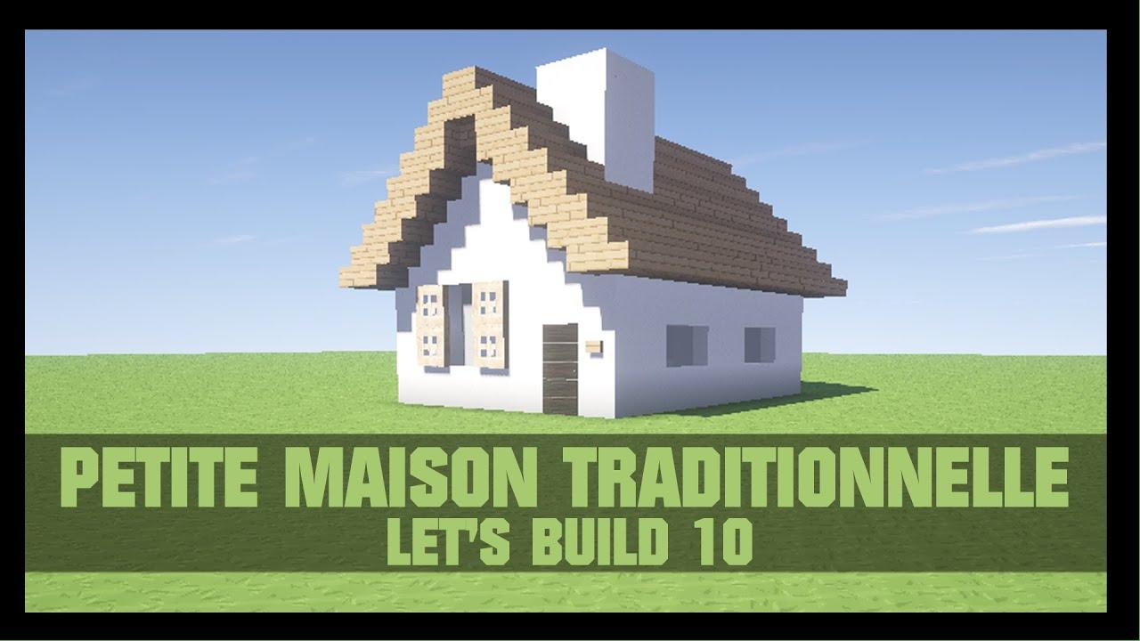 Tuto comment construire une petite maison dans minecraft for Construire une maison terraria