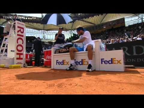 ATP 2012 Hamburg Final Monaco vs Haas ENG