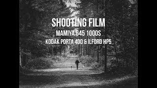 Shooting Medium Format Film - Mamiya 645 - 1000s