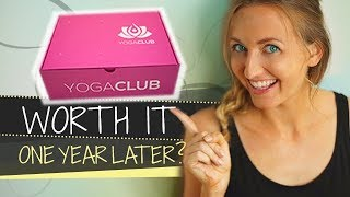 1 Year Later! | Yoga Club Updated Review & Unboxing + MY BABY BUMP Pics