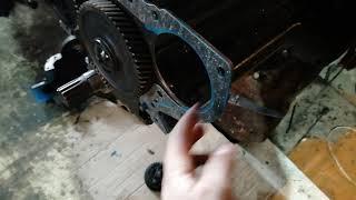 Газораспределительный механизм двигателя мтз д240