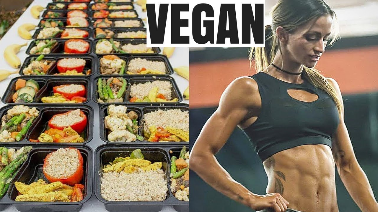 Vegan Bodybuilding Meal Prep
