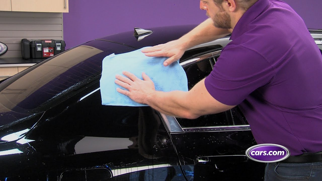 How To Prevent Scratches Swirls On A Black Car Youtube