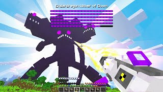 Fighting The STRONGEST WITHER STORM In Minecraft!