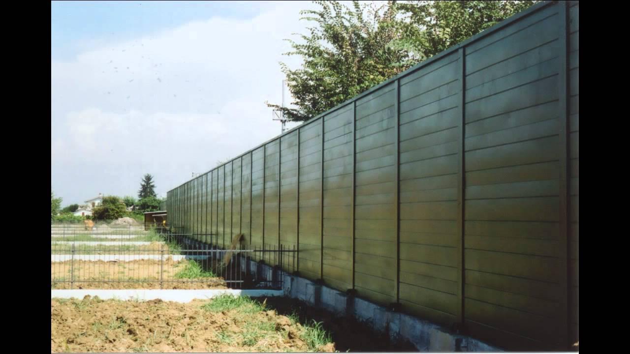 Scm barriere acustiche svizzera lugano como lecco barriere insonorizzate giardino impresa edile - Pannelli fonoassorbenti per giardino ...