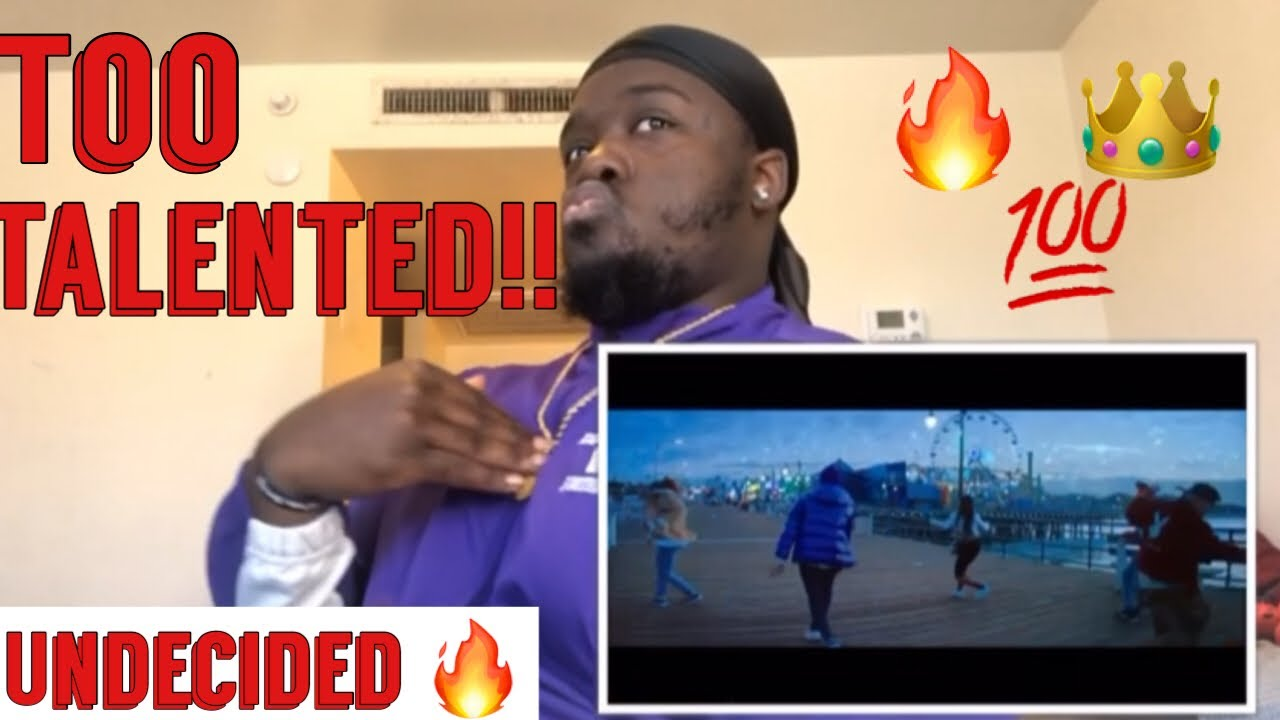 Chris Brown - Undecided (Official Video) | Reaction!!