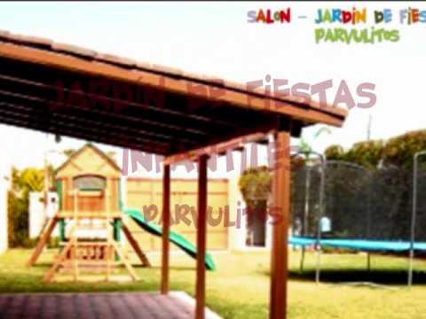 Jardin de fiestas infantiles youtube for Jardines para eventos