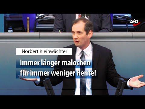 Norbert Kleinwächter zum Versagen der etablierten Parteien bei der Rente