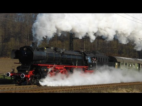 Steam Train Galore Germany! (HD)