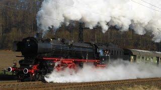 Steam Train Galore Germany! (HD)