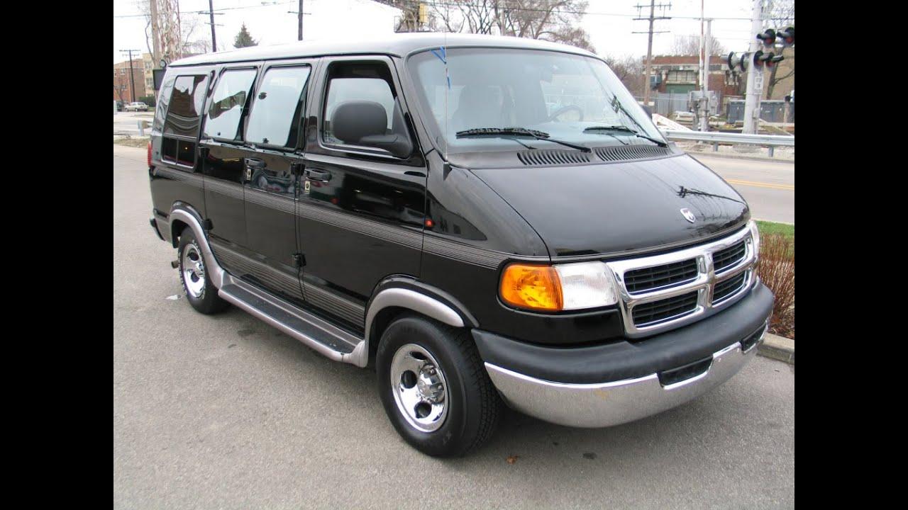 1999 Dodge Ram Conversion Van Black