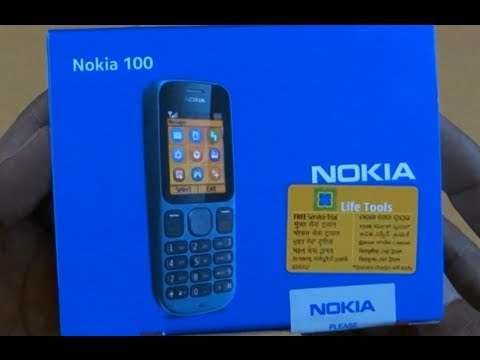 Nokia 100 unboxing.