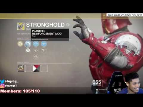 """Reaction To Getting New Exotic Gauntlets """"Stronghold"""" 