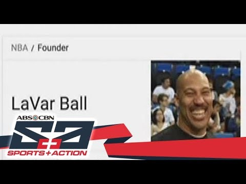 LaVar Ball came up as NBA founder in Google search