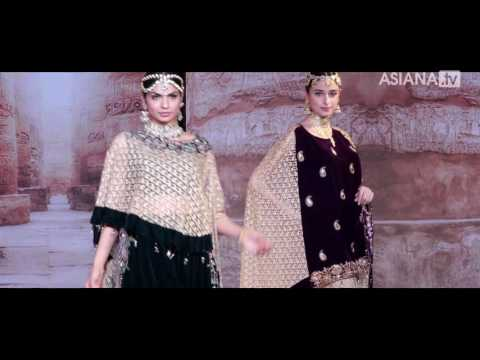 Asiana Bridal Show London Catwalk 2017 - Khushboo's Bespoke fabrics