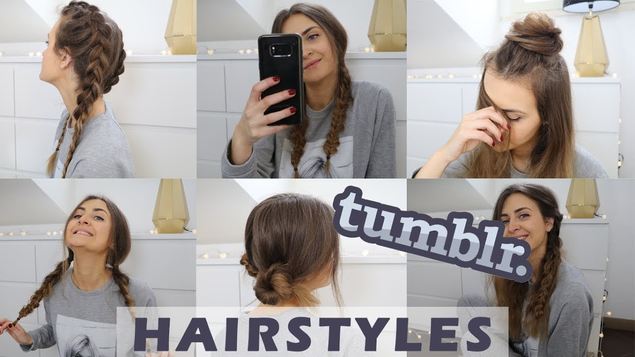 how to make tumblr hairstyles - 4 tumblr inspired hairstyles for school or work
