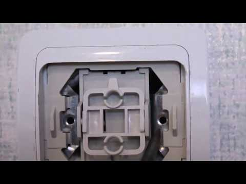 как снять выключатель света со стены  видео (розетку)