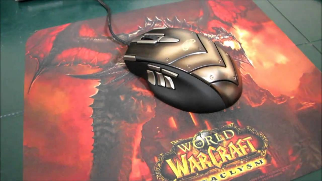 Steelseries World of Warcraft Cataclysm QCK Mouse Pads