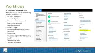 Setting Up Workflows in Dynamics AX- What is a Workflow?