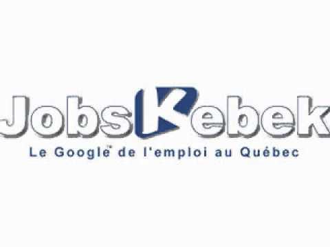 cherchez trouvez tous les offres d 39 emploi au qu bec au canada jobskebek youtube. Black Bedroom Furniture Sets. Home Design Ideas