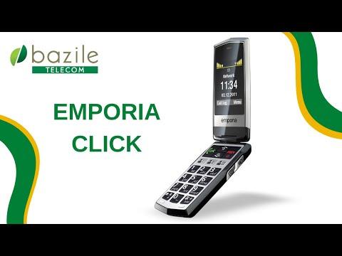 Emporia Click présenté par Bazile Telecom